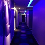 Rooms Corridor in Funky Blue
