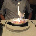 Creme brûlée looked impressive