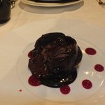I saw this chocolate dessert again later when I was violently sick!!