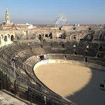 Arènes de Nîmes - Vue d'en haut