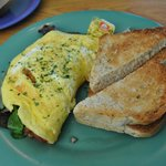 Swiss Cheese Omelet