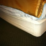 box spring cover dirty