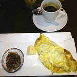 Fantastic omelette/great coffee