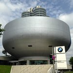 BMW Museum - located at the foot of the park