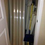 Hall closet - apparently an additional storage locker for maintenance.
