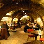 Musee du Vin - cafe area