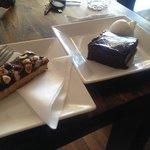 Chocolate Fudge Brownie & Hazelnut Torte