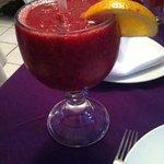 24oz Tropical smoothy w/ vodka 100 MXN