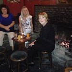 At the Valley House Pub withe Sinead and her Mom.