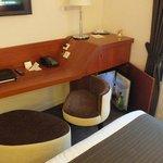 stylish furniture with minibar