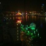 Brilliant hotel, brilliant view.