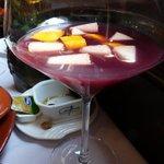 Sangria at Antonio's Restaurant in Taipa