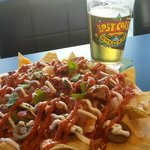 Nacho and a Craft Beer = Lunch Time!