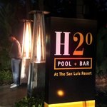 Entrance to H20 with Heaters