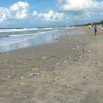 Disgusting beach