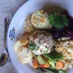 My Vegetarian German meal- excellent