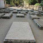 The Armenian church was built on what used to be Armenian cemetery