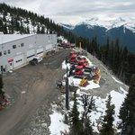 View from gondola Peak to Peak Blackcomb at Whistler