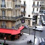 Вид из номера Hotel Opera Lafayette