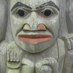Image from impressive Resort totem pole