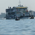 buriganga river tour organised by hotel