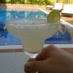 Thai Coconut by the pool