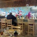 Sunny Daze Counter and back bar