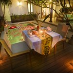 Candle Light Dinner at 1 Bedroom Private Pool Villas1