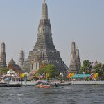 Temple of Dawn (Wat Arun) from the water