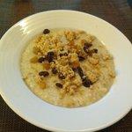 oatmeal for breakfast was so tasty!