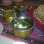 Palak paneer-a must try!