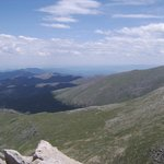 View from Mt Evans CO