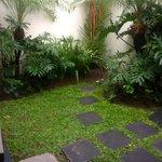 Villa garden!