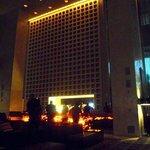 Lobby bar by night