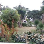 attractive gardens around the hotel area