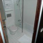 Bathroom (bathtube below the floor level)