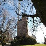 The tower on top of Merkur mt.
