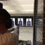 aiming down range