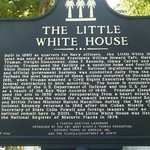 Information sign about the Little White House