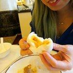 Custard Filling Bun or (Liu Sha Bao) - No ooze factor