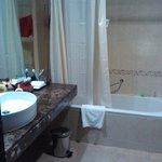 Baño muy limpio