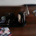 Tea/cofee maker in room
