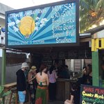 Fantastic seaweed shakes for everyone after diving.