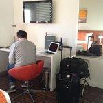 Handy little desk space