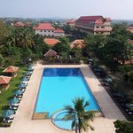 View from Presidential Suite... Deluxe Pool View with Balcony has similar view!