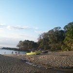 Playa de Montezuma a 200 metros del Hotel.