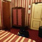 Vue de la Chambre face au lit