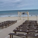 Destination wedding on beach...