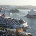 Opera House and Cruise from our room