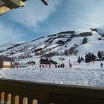 View of lower slopes from Hotel Veranda
